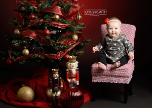 Christmas portraits in Townsend TN