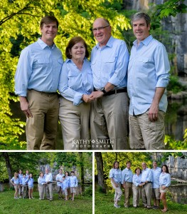 50th Anniversary Portraits in the Great Smoky Mountains