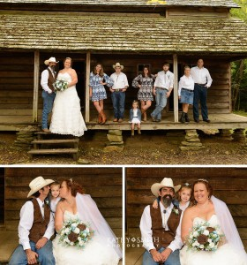 Cades Cove - Tipton Place - Wedding Photography