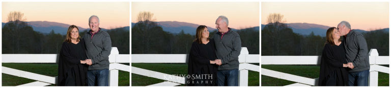 lovely couple portaits at Blackberry Farms