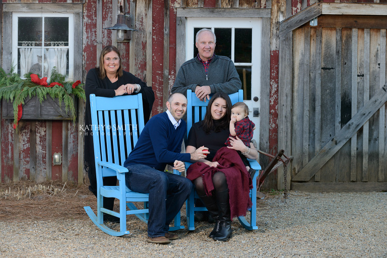 Family portraits at Blackberry Farms