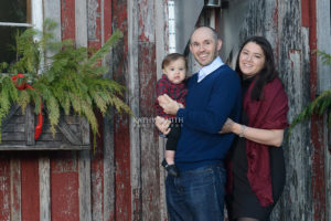 Blackberry Farms Christmas family portraits