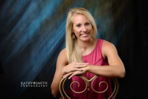 Lovely girl posing for her portraits with Kathy Smith Photography