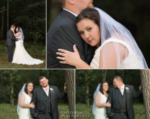 Wedding portraits in Cades Cove by Kathy Smith Photography