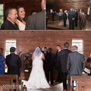 Wedding at Primitive Baptist Church photographed by Kathy Smith Photography