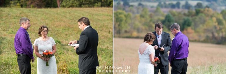 Getting married in Cades Cove with Kathy Smith Photography