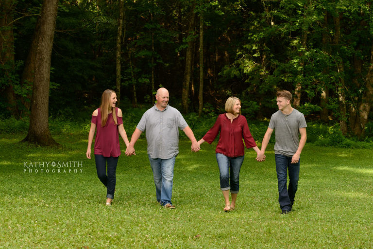 Family portraits at Tipton Place