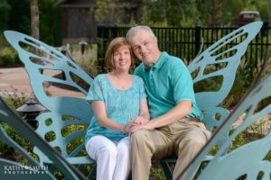 Anniversary portraits at Dollywood Dreammore Resort by Kathy Smith Photography