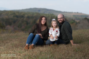 Family portraits at the Apple Orchard by Kathy Smith Photography