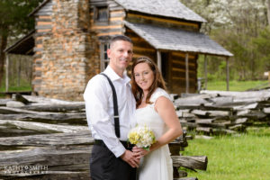 Wedding Portraits in Cades Cove